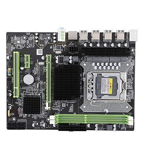 Computer moederbord desktop computer moederbord vervanging met batterij & Gigabit NIC voor RTL8111, voor Xeon Series, Ondersteuning 12 USB-poort