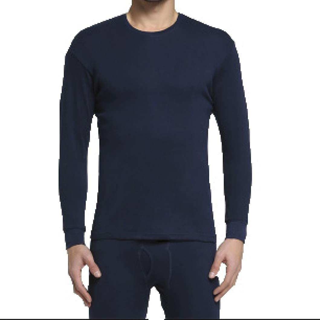 Mens Invisible Thermal Underwear Winter Warm V-Neck Base Layer Long John Set Top and Bottom