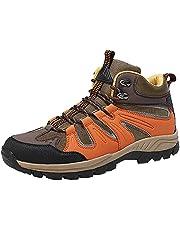 [MERPHINE] ハイキングシューズ 登山靴 メンズ 登山用シューズ トレッキングシューズ トアウトドア キャンプシューズ ハイキング ハイカッ 遠足 防撥水 軽量