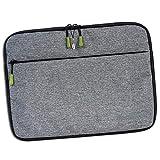 Bestway OTI108K - Bolsa para portátil (poliéster, unisex), color gris
