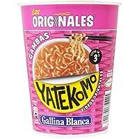 Gallina Blanca - Yatekomo gambas - Preparado de fideos - [Pack de 8]