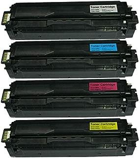 Compatible Laser Toner Cartridge For Samsung 504s 1set (4pcs),use For Samsung Clp-415n/470/475, Clx-4195