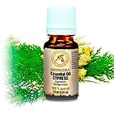 Zypressenöl 10ml - Cupressus Sempervirens - Spanien - 100% Naturreines - Zypressenoel Aetherisch - Duftöl - Cypress Essential Oil