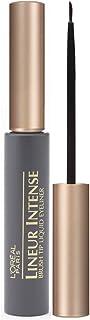 L'Oreal Paris Lineur Intense Brush Tip Liquid Eyeliner, Black, 0.24 fl; oz; (Packaging May Vary)