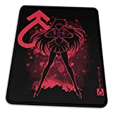 Sailor The Mars - Hino Rei Mouse Pad Gaming Mouse Pad Non-Slip Rubber Base with Stitched Edge Computer Pc Mousepad for Home Office