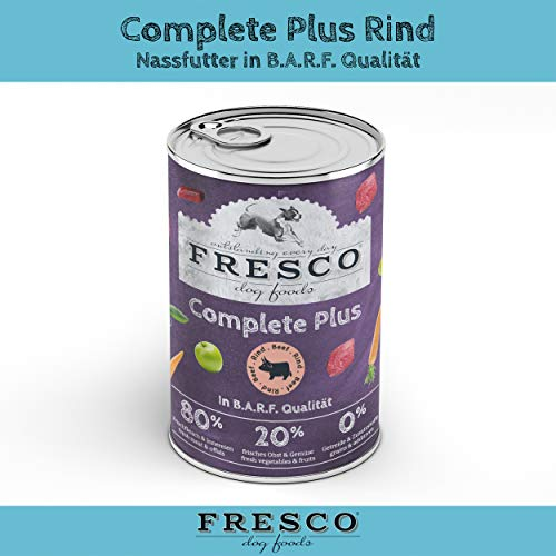 Fresco Dog Complete Plus Rind 400g (haltbares B.A.R.F.)