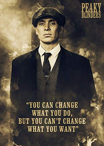 POSTER THOMAS SHELBY PEAKY BLINDERS 100X70CM