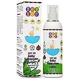 BeyBee Baby Sunscreen Lotion for Kids & -Born Babies SPF 50 PA+++, 120ml