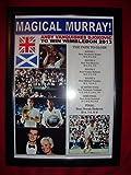 Andy Murray Wimbledon Champion 2013–Kunstdruck,