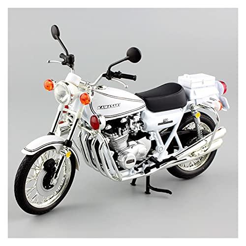 MHDTN El Maquetas Coche Motocross Fantastico 1:12 para Kawasaki 750 RS-P Z750 Colección De Modelos De Motocicleta De Fundición A Presión Estática Deportiva Expresión De Amor