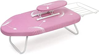 Tabletop Ironing Board, with Steam Iron Rest Ironing Board Cover Small Ironing Board Extra Stable Legs-D