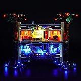 icuanuty Kit De Iluminación LED para Lego Stranger Things el Juego de Juguetes al Revés Compatible con Lego 75810 (No Incluye El Juego De Lego)
