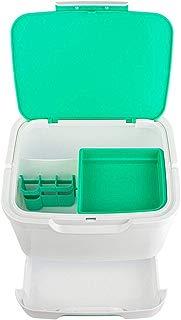 IPurpleBTS Storage Box Storage Holder Storage Boxes Multifunction Family First Aid Kit Home Extra Large Medicine Box,Green(250 200 190mm) Home Storage and Organization