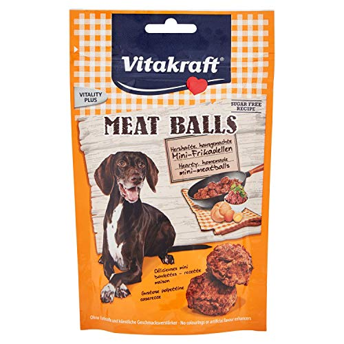 VITAKRAFT Meat Balls Friandise pour Chien 80 g
