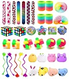 OUKER Party Favor Toy Assortment for Kids Birthday Party,School Classroom Rewards,Stocking Stuffers,Carnival Prizes,Pinata Fillers,Treasure Chest,Prize Box Toys,Goody Bag Fillers