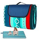 Picknickdecke 200x200cm Outdoor Picknickdecke Wasserdicht 2-5...