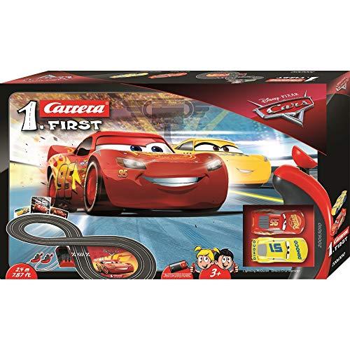 Carrera Disney Pixar Cars 3 First Rennbahn Auto Rennstrecke 8 Form NEU