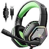 EKSA 7.1 Gaming Headset - Surround Stereo Sound...