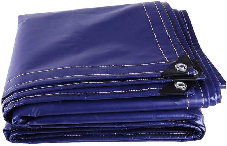 MuMa Bache PVC épaissir Imperméable Imperméable Crème Solaire Couverture Pluie Personnaliser (Couleur   violet, Taille   4  6M)