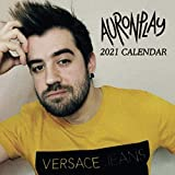 Auronplay: 12 - Month Calendar 2021 - Mini size 7''x7'' - Twitch Calendar