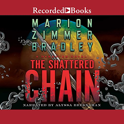 The Shattered Chain audiobook cover art