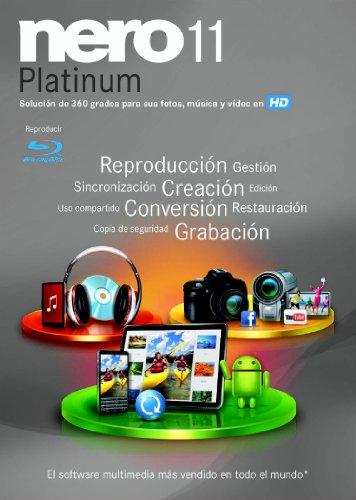 Nero 11 Platinium - Software de editores y grabadores multimedia