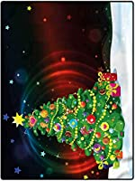 カーペット 吸水 厚い 敷物 140*200 キッズ保育園ティーンルームガールズボーイズクリスマスツリー漫画のためのクリスマスの家の装飾の敷物 夏ラグ 防ダニ 洋室