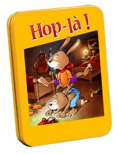 Gigamic - AMHOPL - Jeu de Cartes d'Action et de Réflexe pour Enfant - Hop-Là