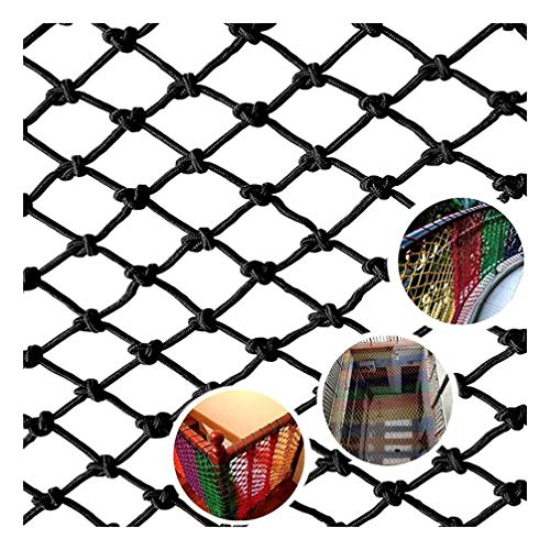Great Deal! Child Safety Net, Black Nylon Woven Protective Net, Garden Fence Plant Climbing Net Cat ...