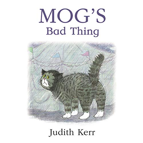 Mog's Bad Thing audiobook cover art