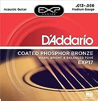 D'Addario EXP17 Coated Phosphor Bronze Medium×3SET アコースティックギター弦
