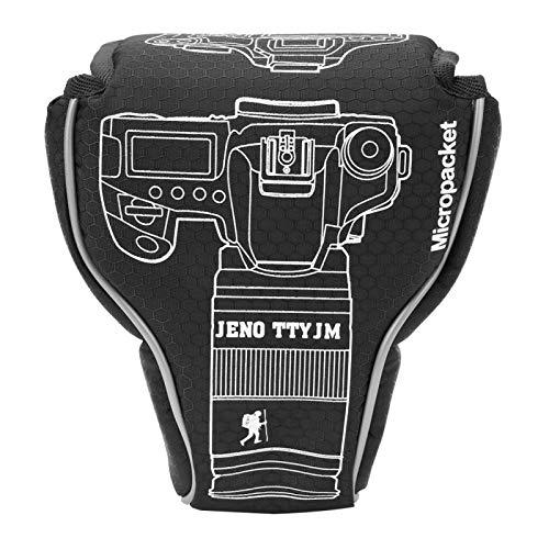 FECAMOS Bolsa de nylon para câmera à prova de poeira para câmera Nikon mirrorless (preto)