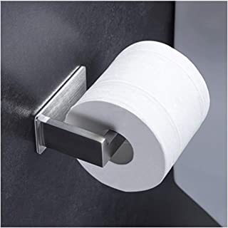 SAmuyo 1PCS Self Adhesive Stainless Steel Kitchen Tissue Hanging Holder Bathroom Toilet Roll Paper Holder Towel Rack Cabin...