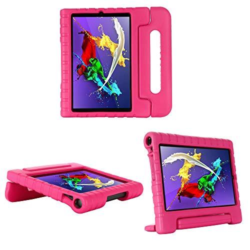 cradle HR Funda protectora para tablet Lenovo Yoga Smart Tab 10,1 (YT-X705F) pulgadas, EVA ligera funda protectora a prueba de golpes (magenta)