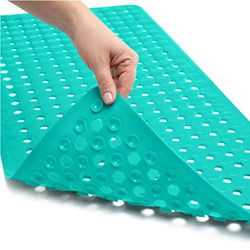 Product Image of the Gorilla Grip Patented Bath Tub and Shower Mat, 35x16, Machine Washable, Large...