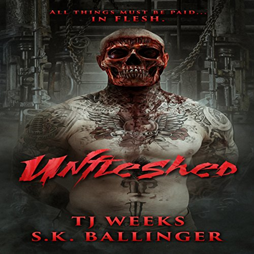 Unfleshed audiobook cover art