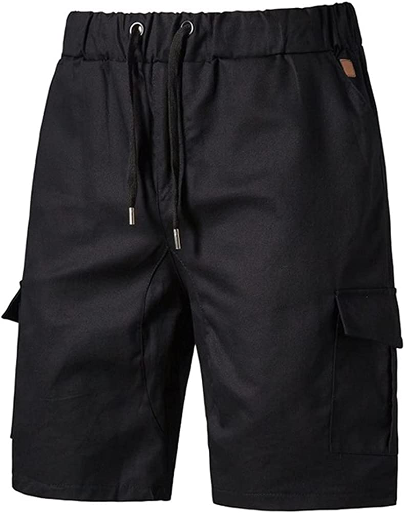NP Men's Work Shorts Summer Beach Casual Shorts Man Side Short Pants
