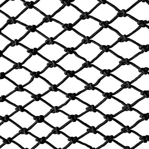 Kinder Sicherheitsnetz Universal Schutznetz Nylon Sicherheitsnetz,Balkonnetz Kinder Sicherungsnetz Schutznetz Schwarz Dekor Netz Seilnetz Zaunnetz 8cm/6mm Nylon Gitter GepäCknetz Ladung-Netz Sicherhei