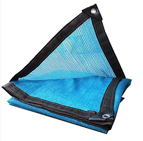 Filet d'ombrage, Sun Mesh Shade cryptage épaississement UV résistant net polyéthylène filet d'isolation thermique extérieure, diverses tailles voile de voile parasol (Couleur : A, taille : 8 * 8m)
