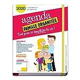 Agenda de la famille organisée 2020 (de sept. 2019 à déc. 2020) S'organiser n'a jamais été aussi simple !