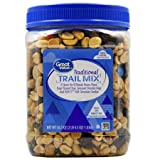 Traditional Trail Mix, 36.5 oz,Pack of 2