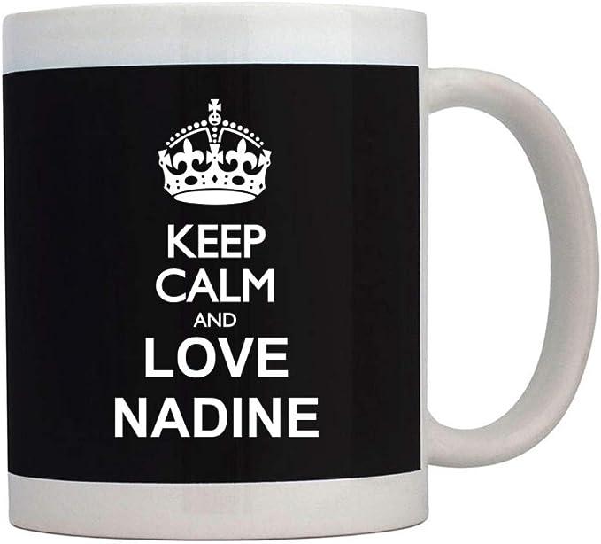Teeburon Keep calm and love Nadine Mug
