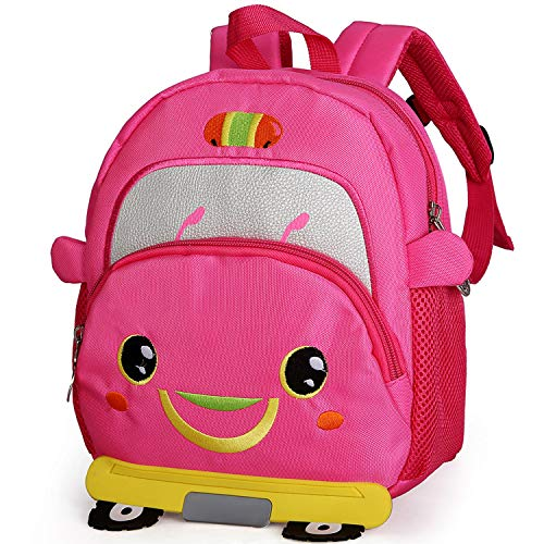 Leuke Mini Cars Rugzak voor Kids Peuter Kleuterriem Rugzak Jongen 2-4 Jaar