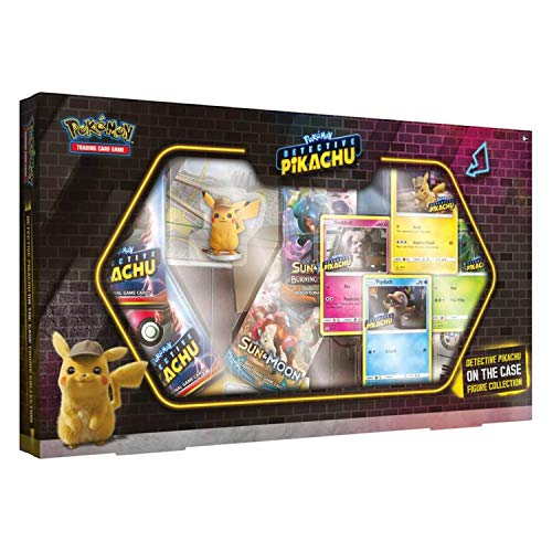 PoKéMoN TCG: Detective Pikachu On The Case Figure Collection, colores variados (290-80636) , color/modelo surtido