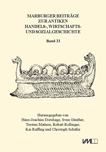 Marburger Beiträge zur Antiken Handels-, Wirtschafts- und Sozialgeschichte 33, 2015