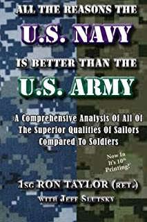 All The Reasons The U.S. Navy Is Better Than The U.S. Army: A Comprehensive Analysis Of All Of The Superior Qualities Of Sailors Compared To Soldiers.