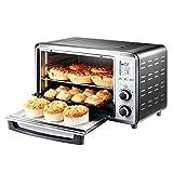 Riyyow Elektrischer Ofen, 30l Mini Electric Ofen, 1500 Watt Einstellbarer Thermostat,...