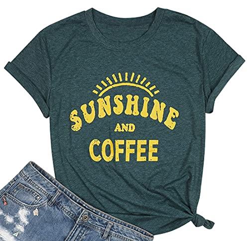 Sunshine Tshirts Funny Summer Graphic Tee Shirts for Women...