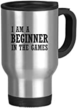 I Am A Beginner In The Games Stainless Steel Travel Mug Travel Mugs With Handles 13oz Gift
