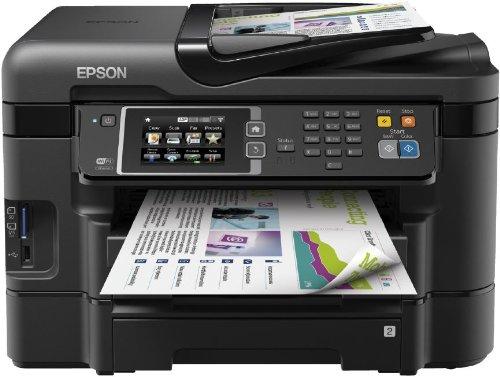 Epson WF-3640DTWF Multifunktionsgerät (Scanner, Kopierer, Drucker und USB) schwarz